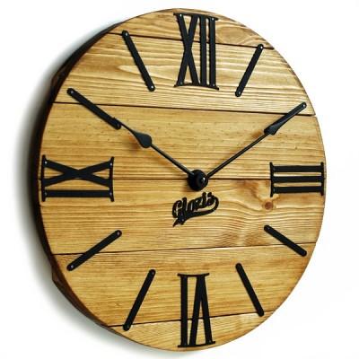 Дерев'яні настінні годинники (80)