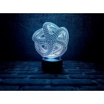 3D Нічник зі світлодіодною панеллю «Ілюзія»