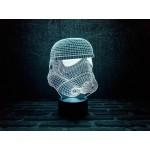 3D Нічник зі світлодіодною панеллю Штурмовик