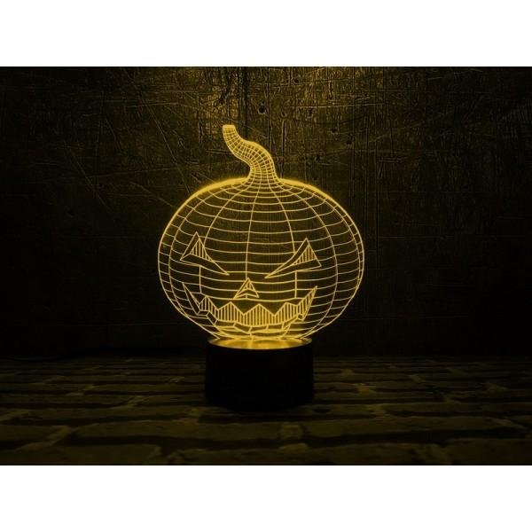 3D світильник Хеллоуін
