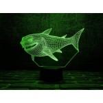 3D світильник Акула