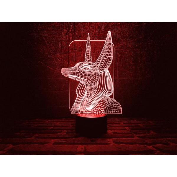 3D світильник Анубіс