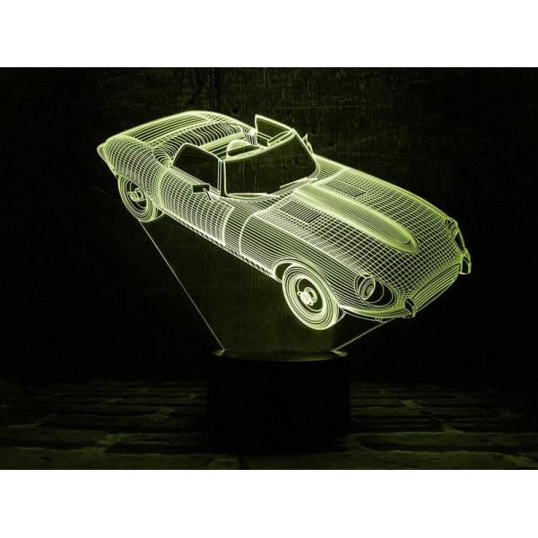 3D світильник Автомобіль 2