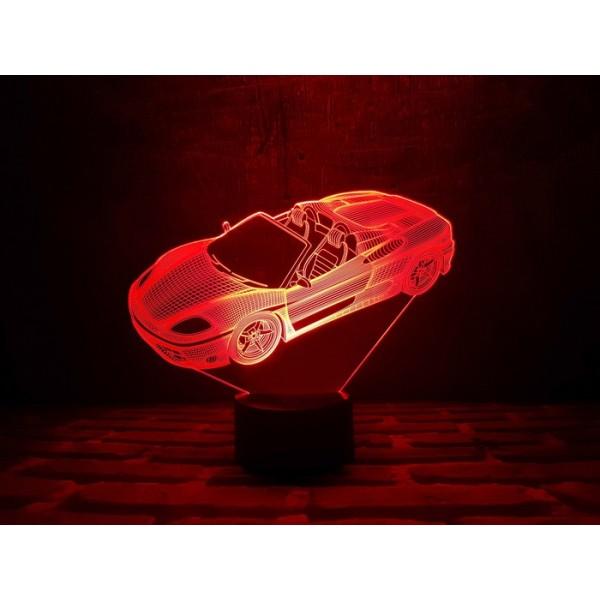3D світильник Автомобіль 3