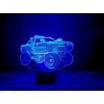 3D світильник Автомобіль 4