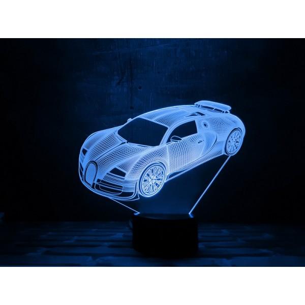3D світильник Автомобіль 5