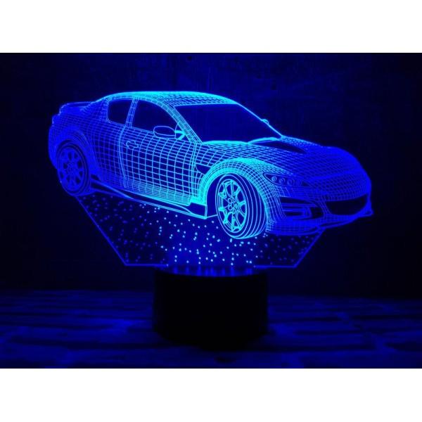 3D світильник Автомобіль 6