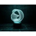 3D світильник Безкінечність