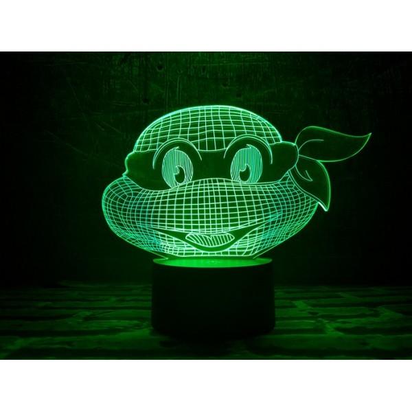 3D світильник Черепашка ніндзя 1
