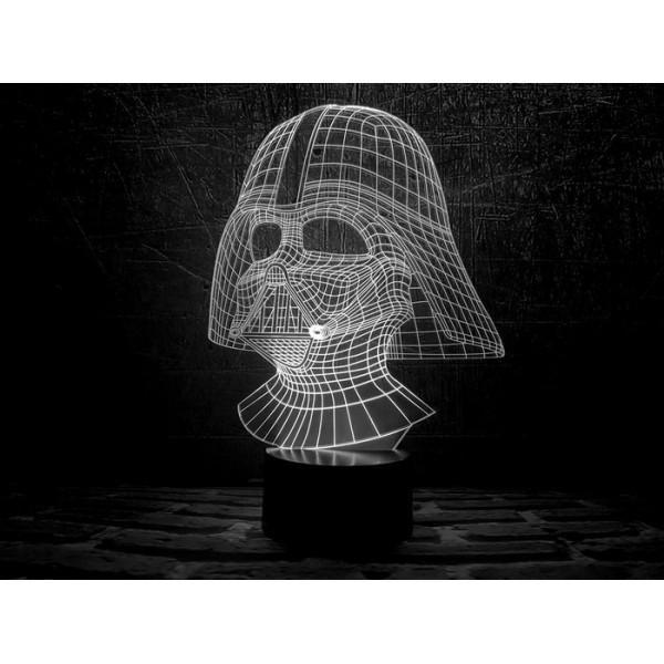 3D світильник Дарт Вейдер