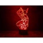 3D світильник Дедпул