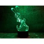 3D світильник Джуді Хопс