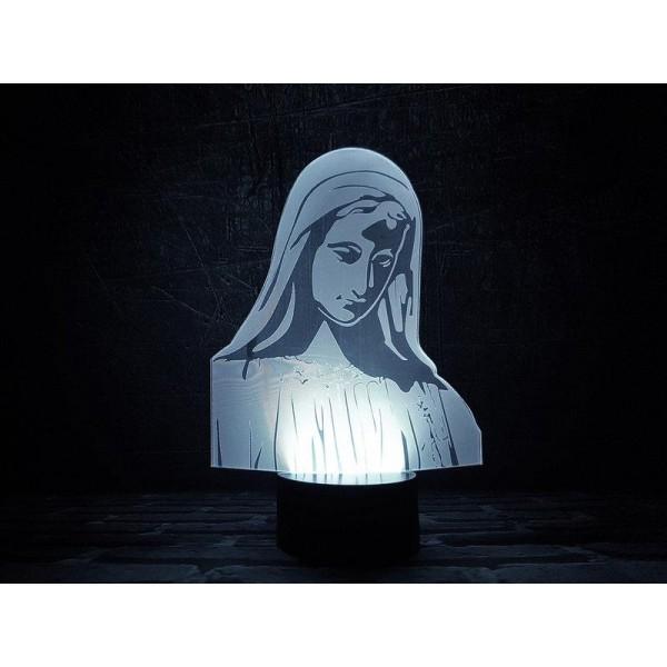 3D світильник Діва