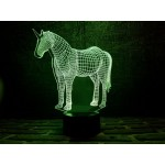 3D світильник Єдиноріг