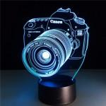 3D світильник Фотоаппарат