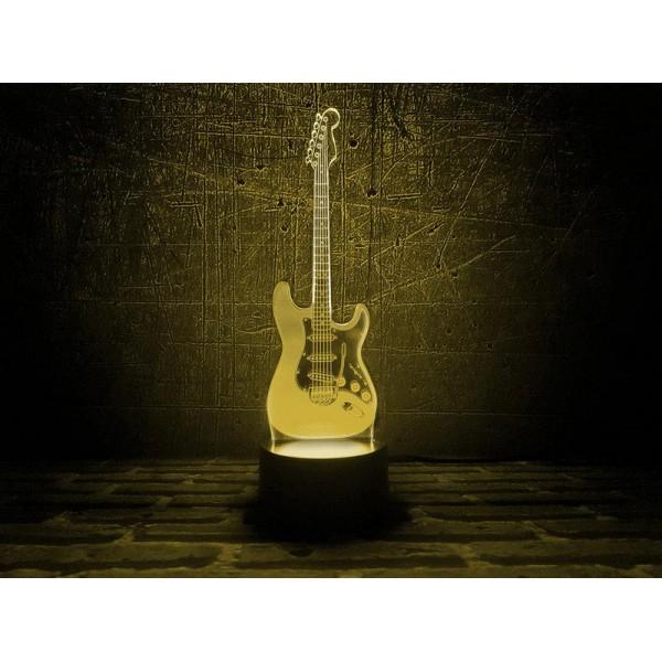 3D світильник Гітара
