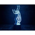 3D світильник Грація