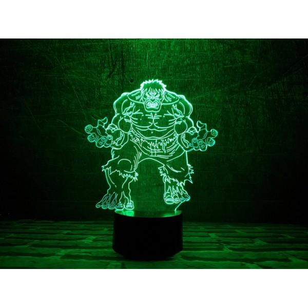 3D світильник Халк