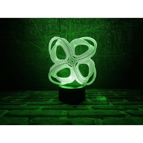 3D світильник Інфініто