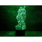 3D світильник Залізна людина 3