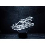 3D світильник Яхта