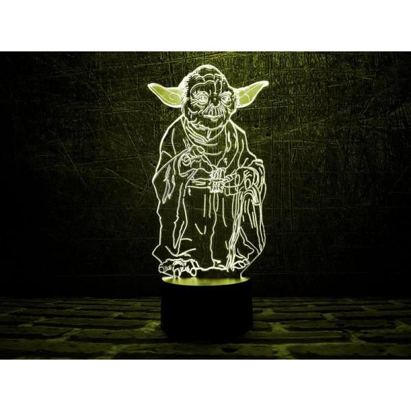 3D світильник Йода