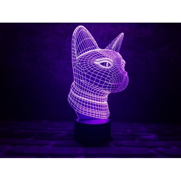 3D світильник Кішечка