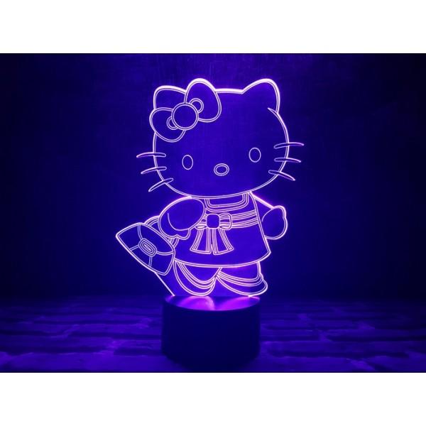 3D світильник Кітті