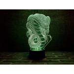 3D світильник Кобра