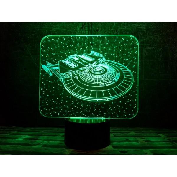 3D світильник Космічний корабль