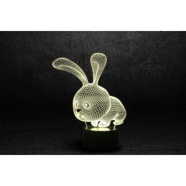 3D світильник Кролик