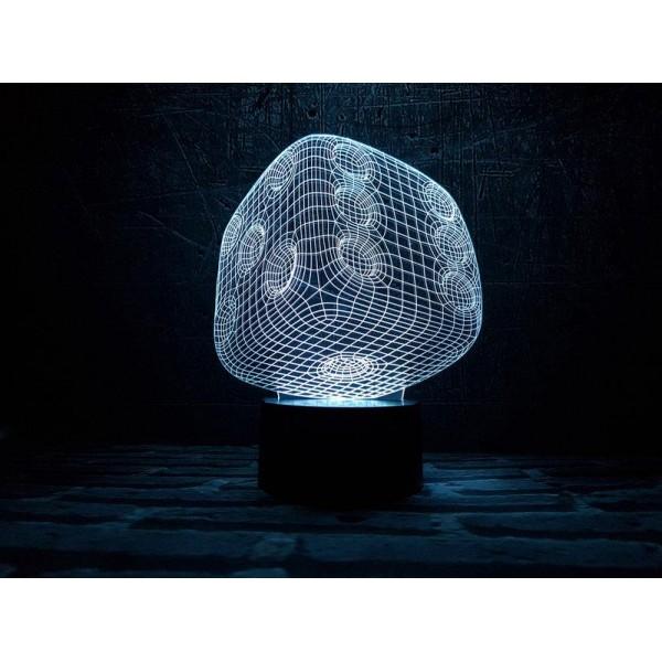 3D світильник Кубік