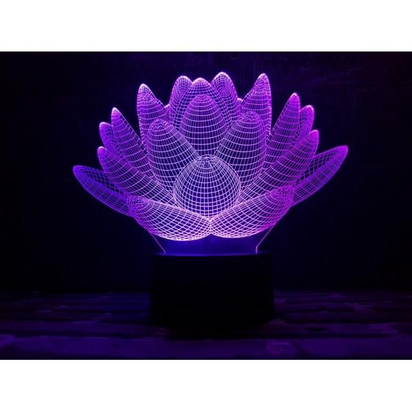 3D світильник Лотос