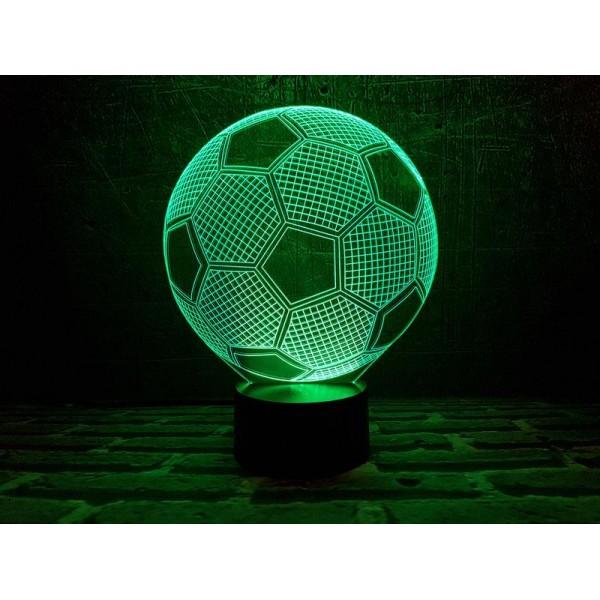 3D світильник Футбольний мя'ч