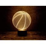 3D світильник Баскетбольний м'яч