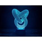3D світильник Мебіуса
