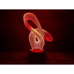 3D світильник Мебіуса 2