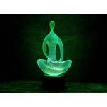 3D світильник Медитація