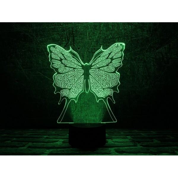 3D світильник Метелик