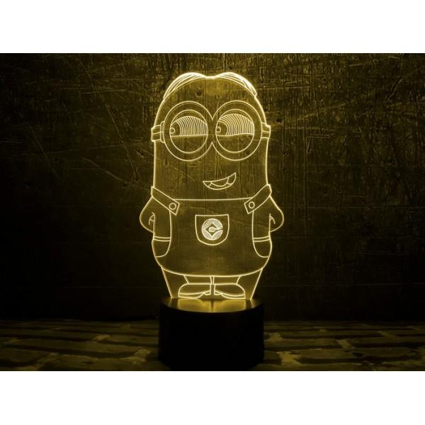 3D світильник Міньон 2