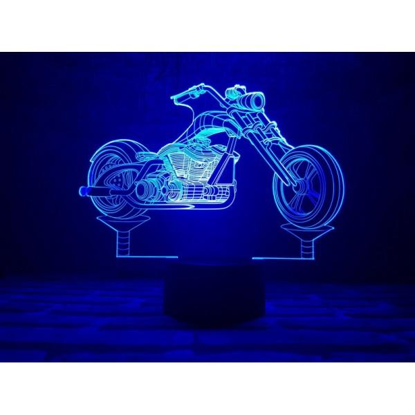 3D світильник Мотоцикл 3
