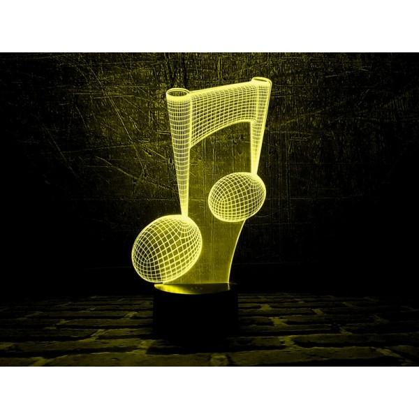 3D світильник Нота