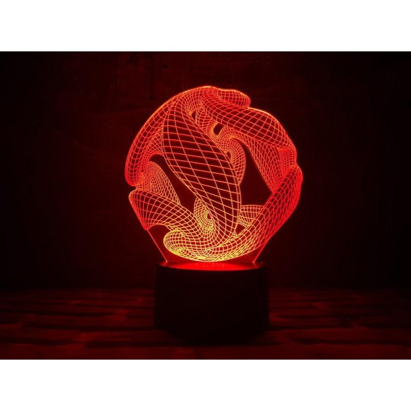 3D світильник Океан