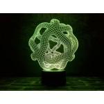 3D світильник Оніс