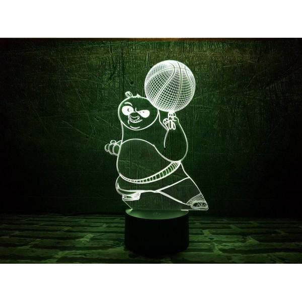 3D світильник Панда ПО