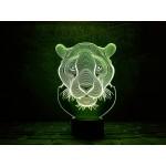 3D світильник Пантера