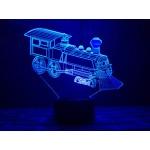 3D світильник Паровоз