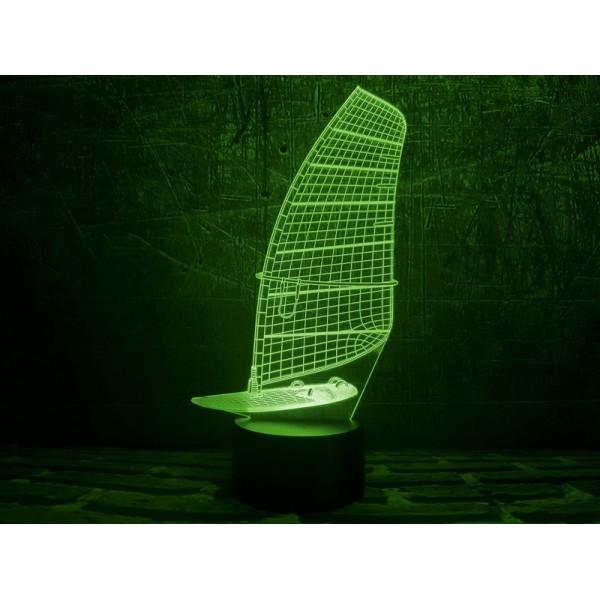 3D світильник Парусник