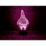 3D світильник Патрік