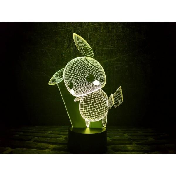 3D світильник Пікачу